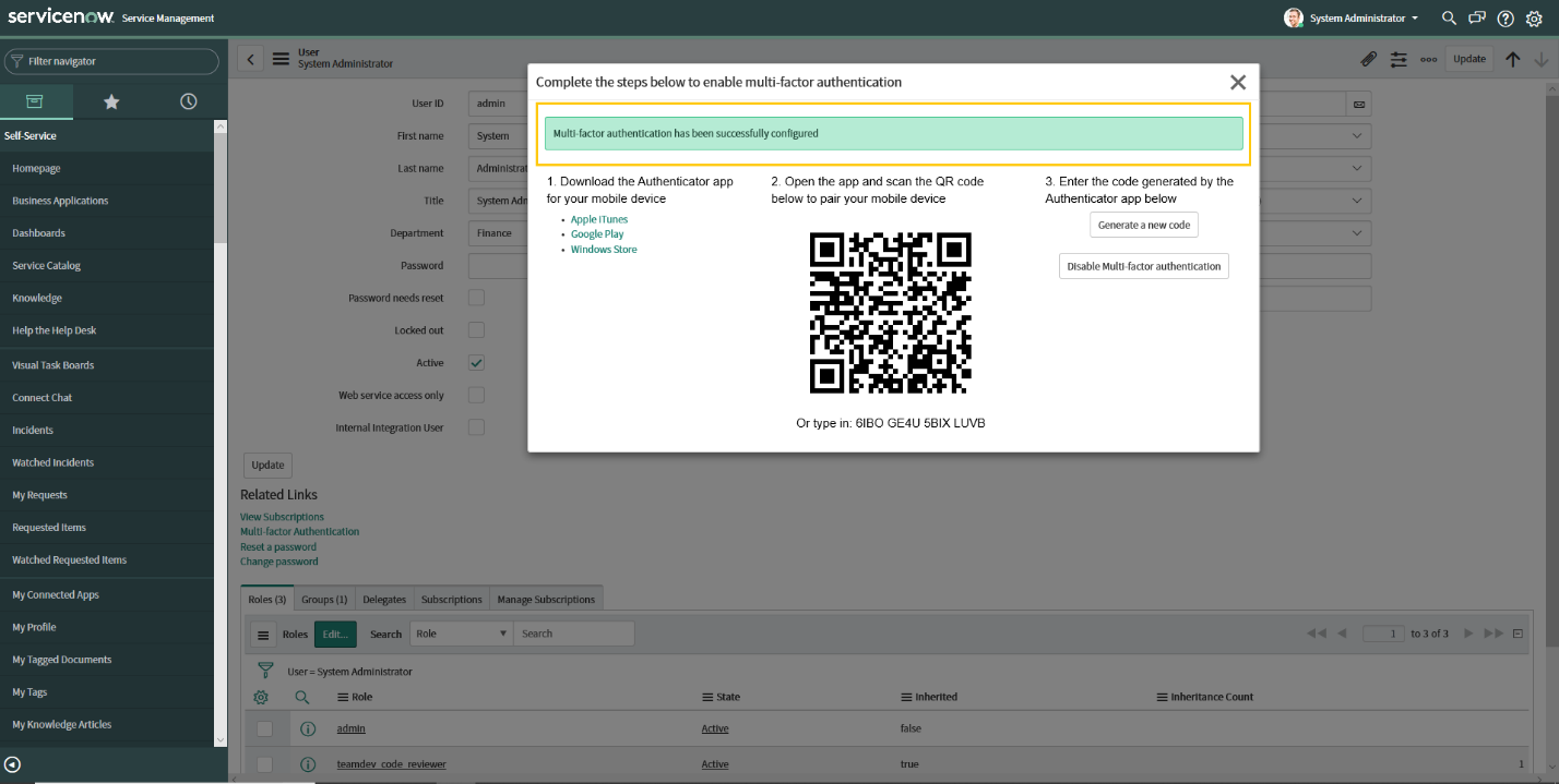 Understanding Multi-factor Authentication In ServiceNow