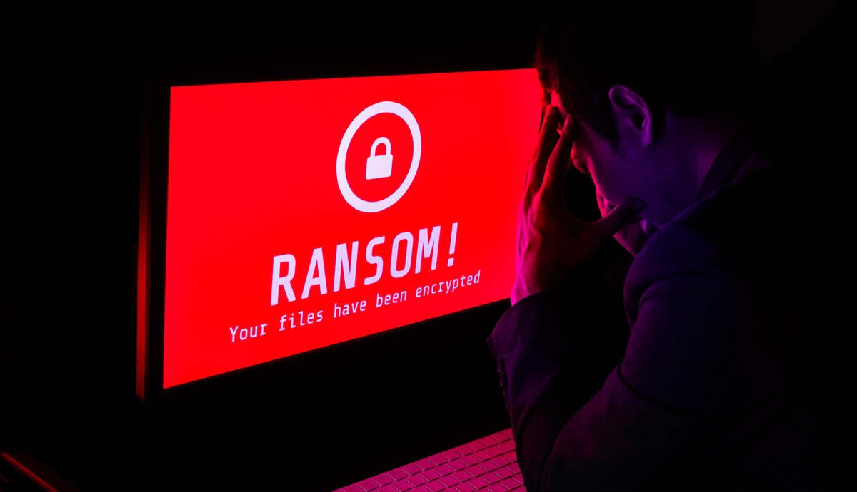 Ransomware example of a busienss owner wodnering how to not be ransomed
