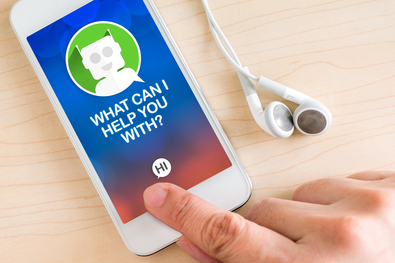 Mobile slack chatbot