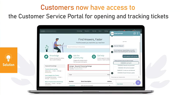 ServiceNow CSM Central Dashboard