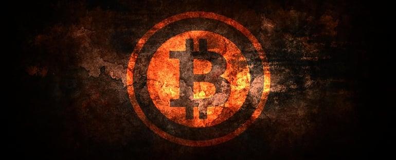 blockchain bitcoin illustration