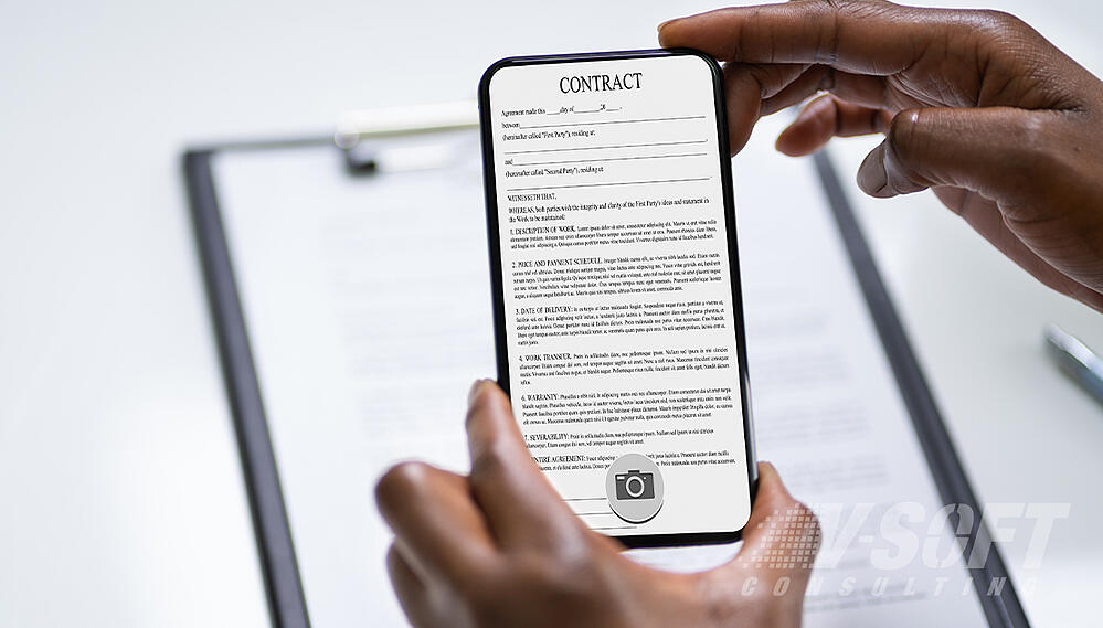 Document scanning using OCR