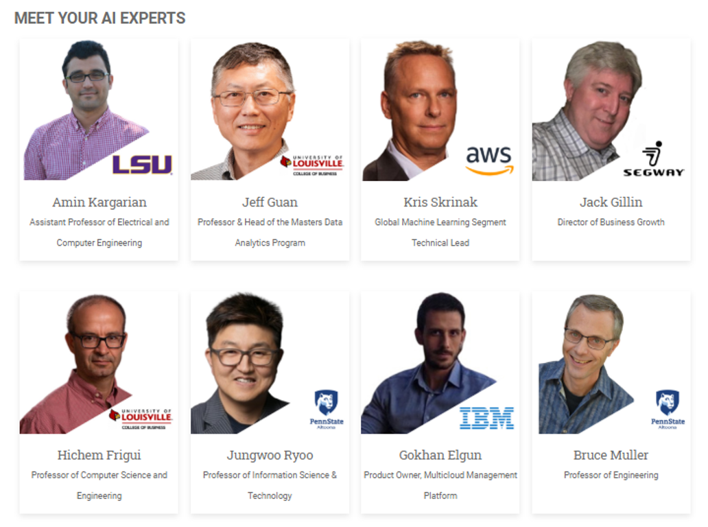 Expert Speaker Line-Up for Back to Business with AI Event