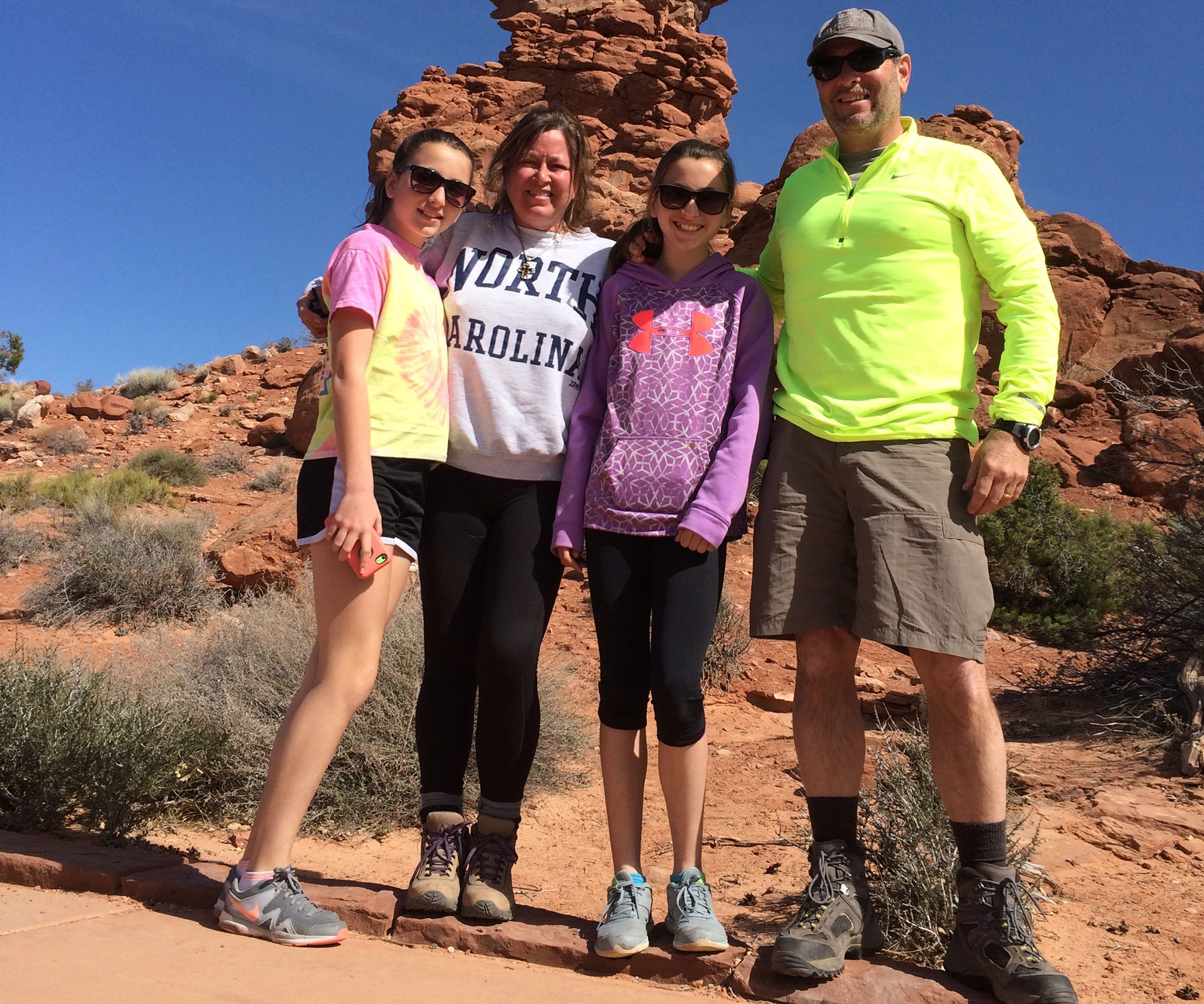 Greg Loftin, our ServiceNow expert enjoying the outdoors with his family in Denver.