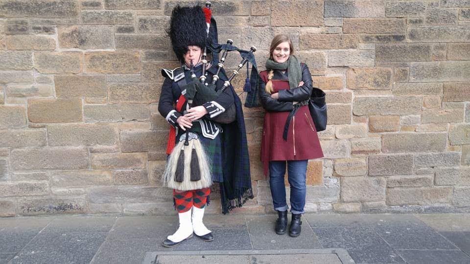 Kasey in Scotland