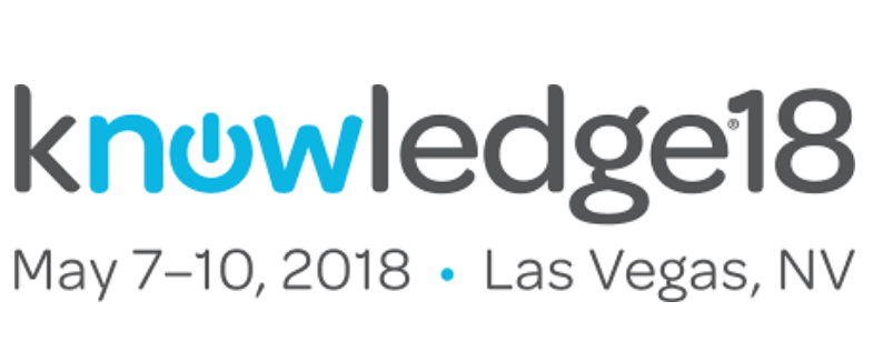 Knowledge18 ServiceNow Confeence Dates