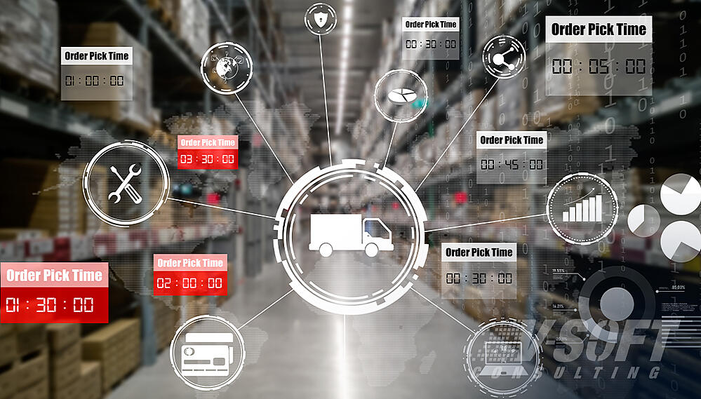 Supply chain management Using RPA