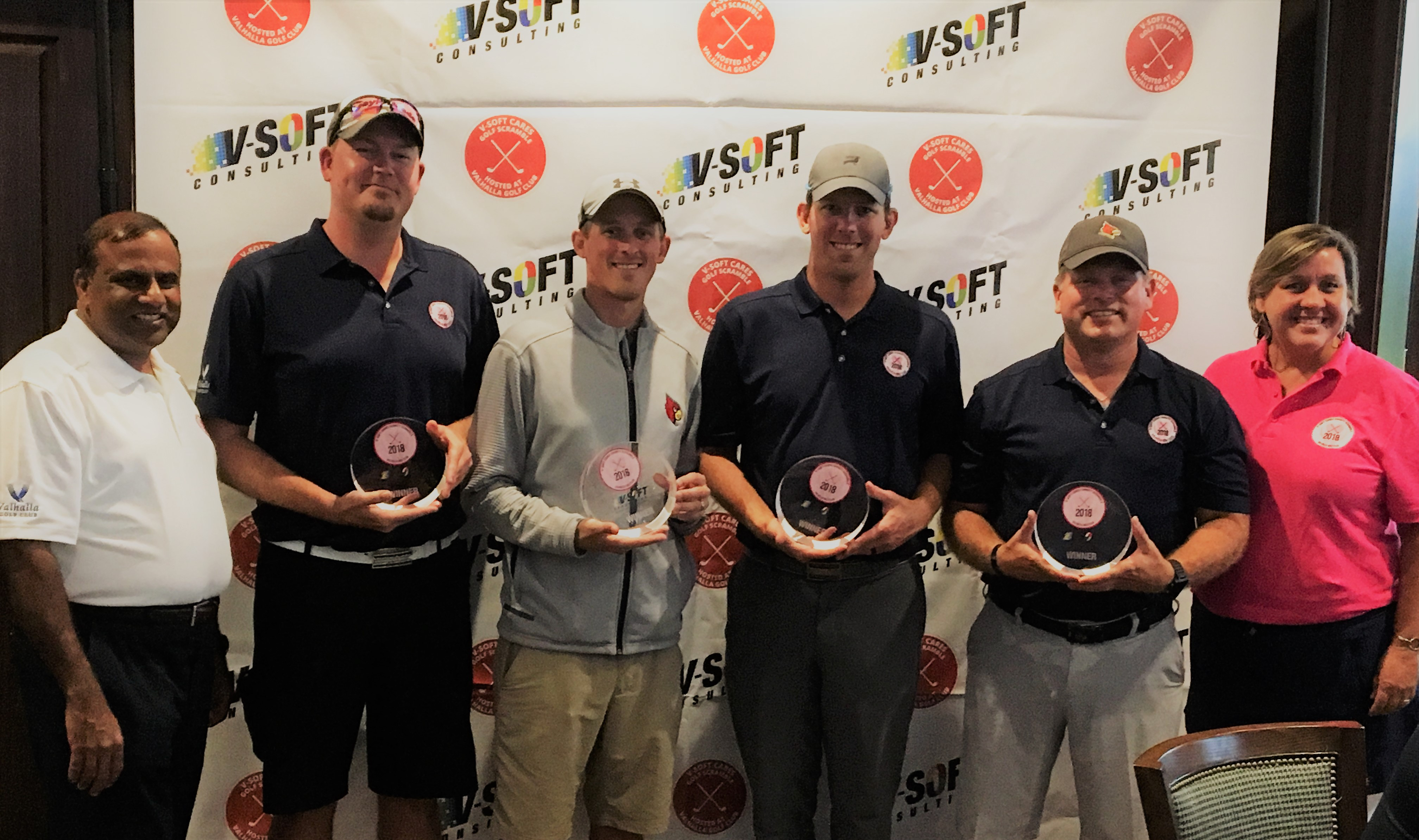 Winners golf scramble