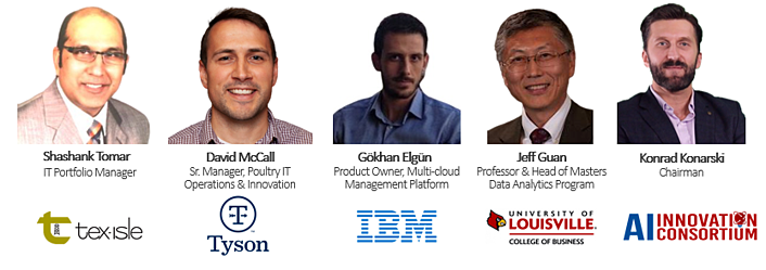 AI experts from Tex-Isle, Tyson, IBM, UofL and the AIIC share their knowledge on AI's impact.
