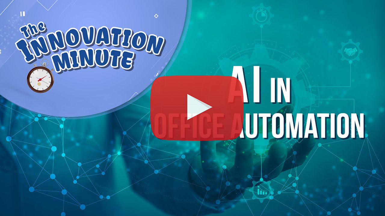 Examples of Office Automation Using Artificial Intelligence