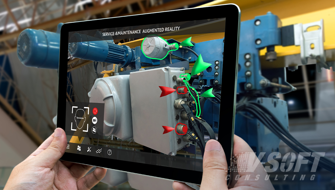 AR application in maintenance in manufacturing environment