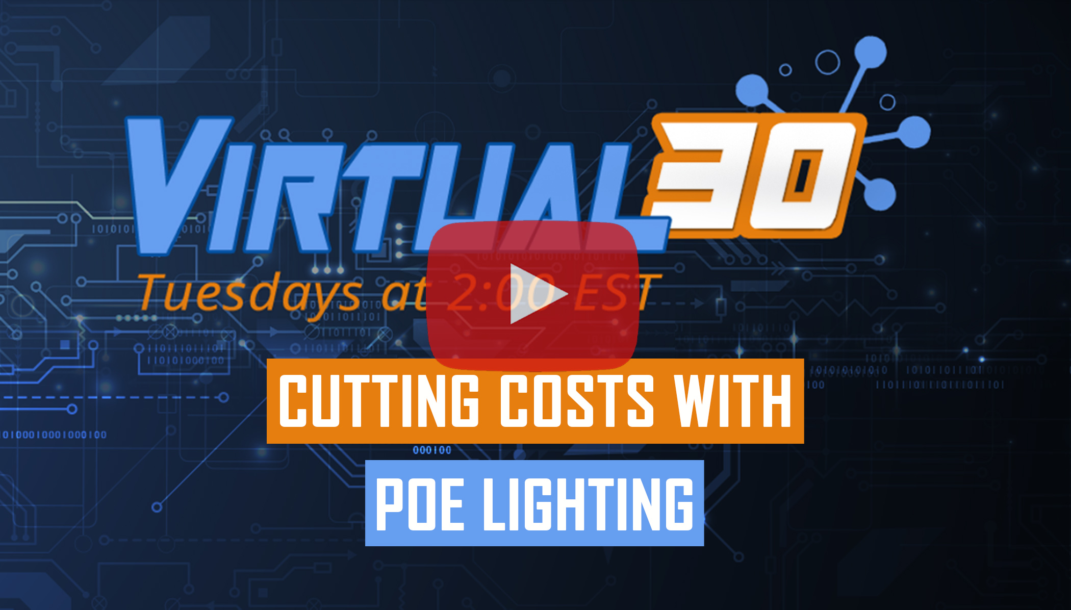 Cutting Costs with Power Over Ethernet Lighting Solutions