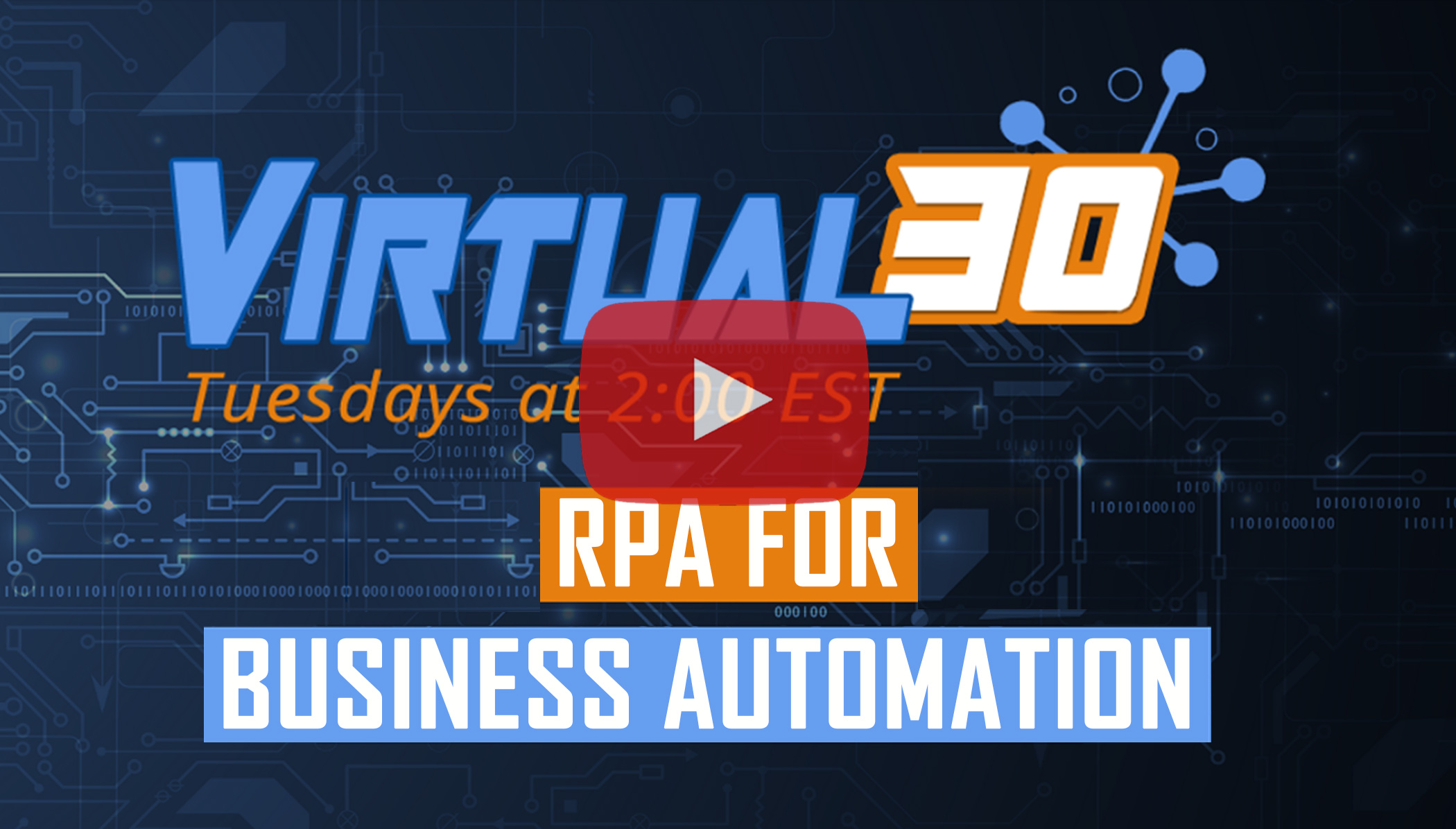 RPA Webinar Thumbnail How to Produce ROI with Robotic Process Automation