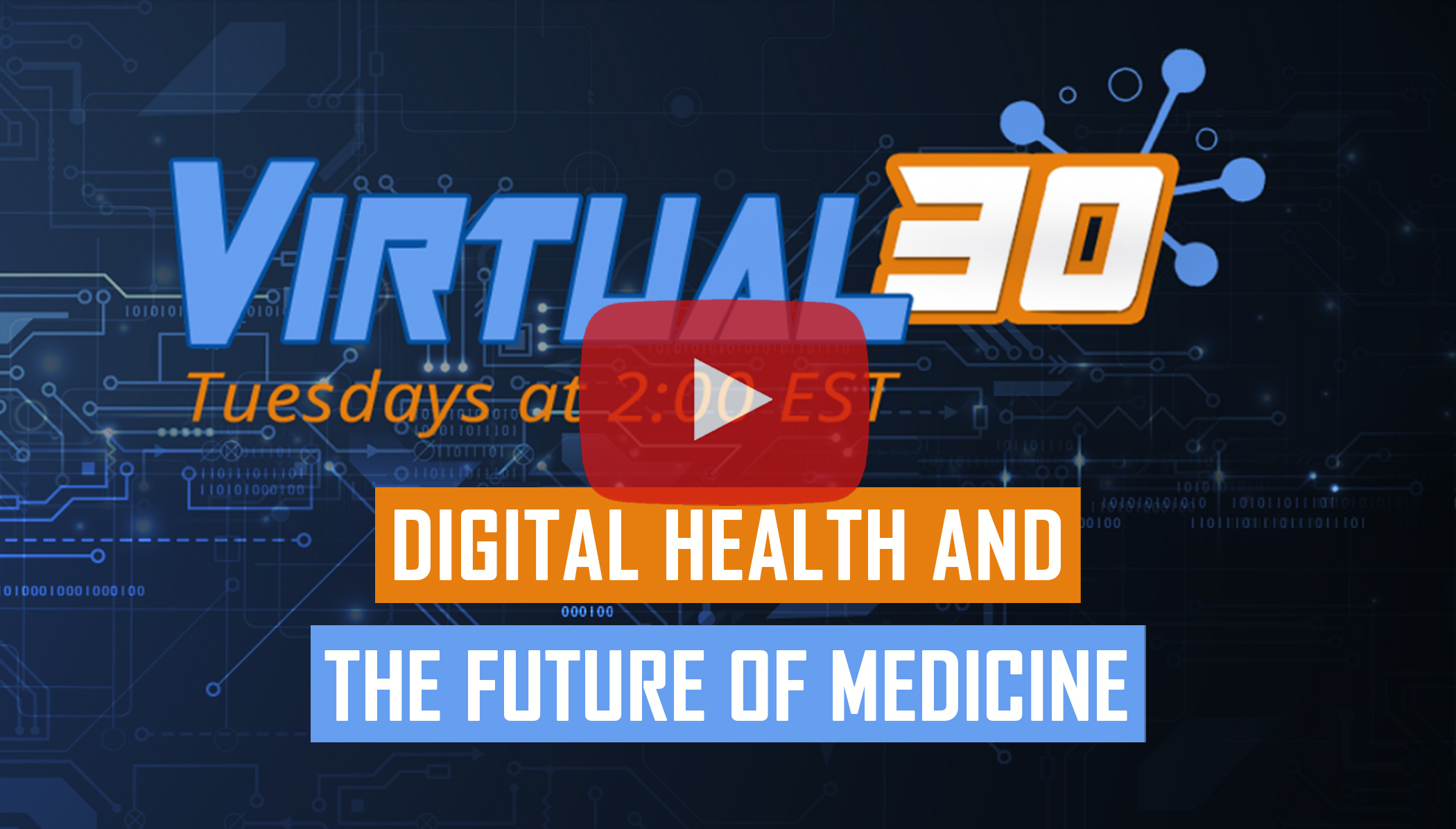 Webinar about digital disruption in the healthcare industry