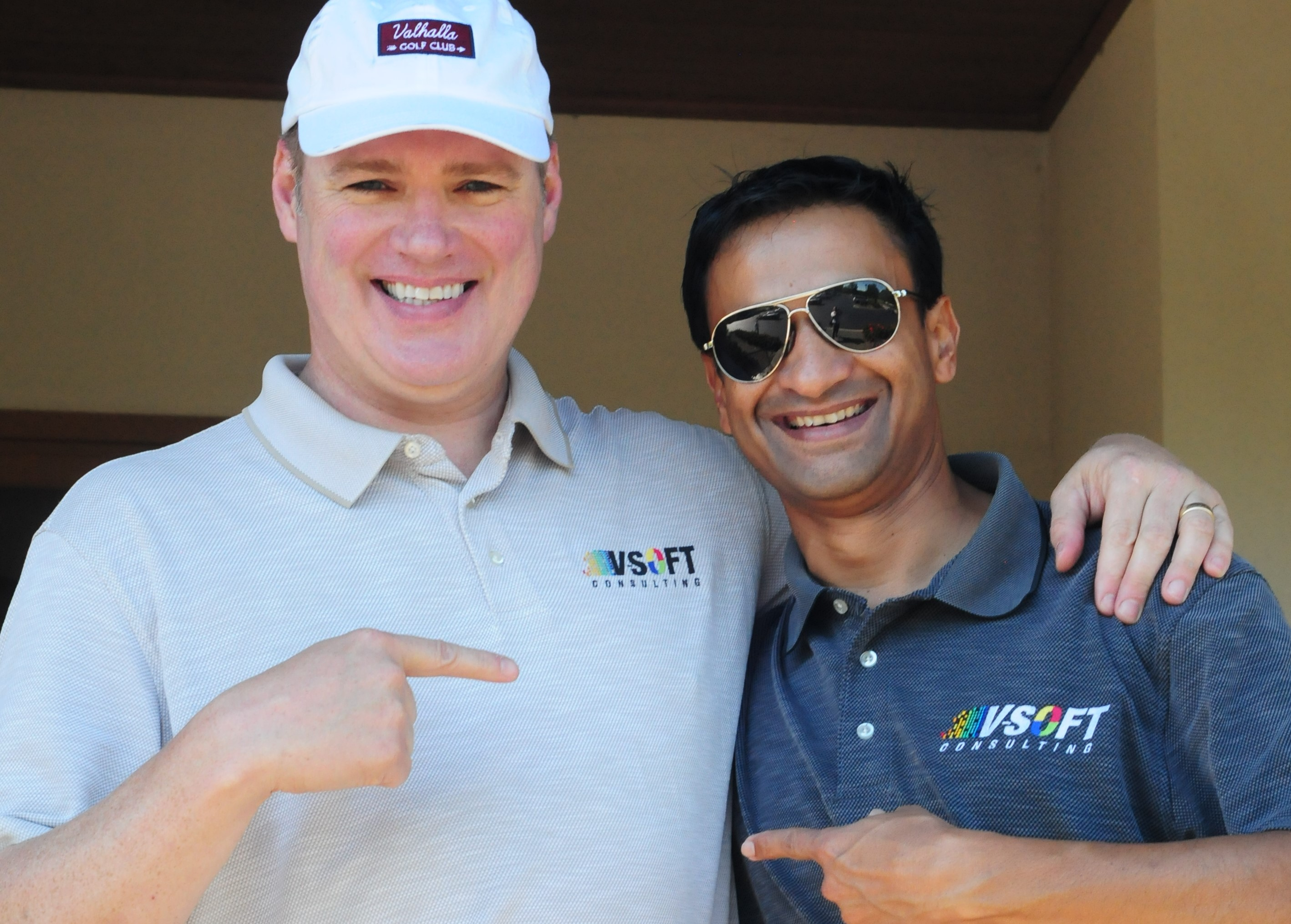 Michael Ross, Director of Marketing at V-Soft Consulting with Jai Bokey