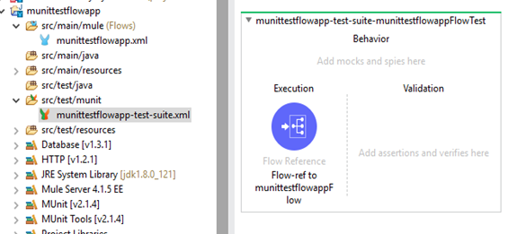 MUnit configuration file