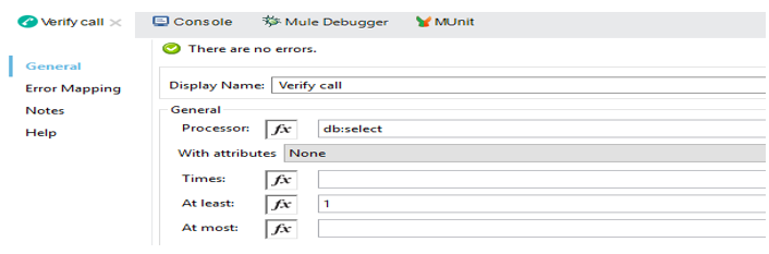 Verify Call structure and its use