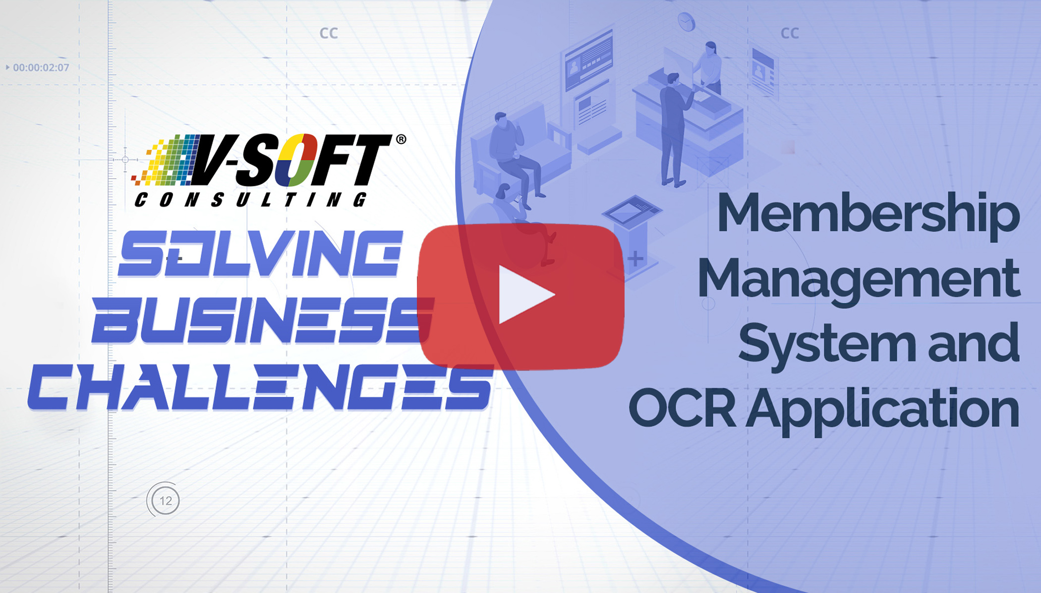 Membership management system and OCR application