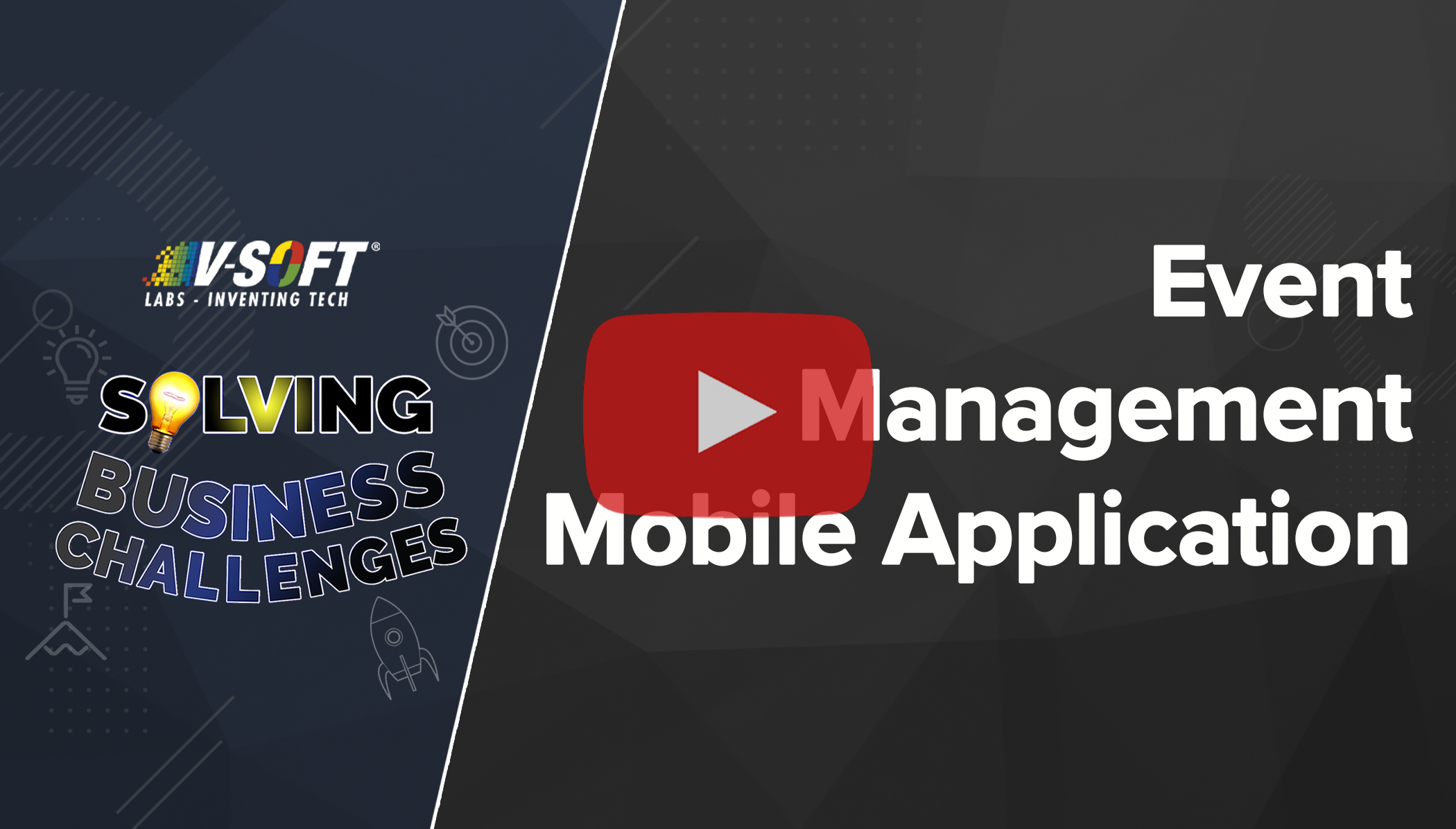 V-Soft Labs Case Study Event Management Mobile App Development