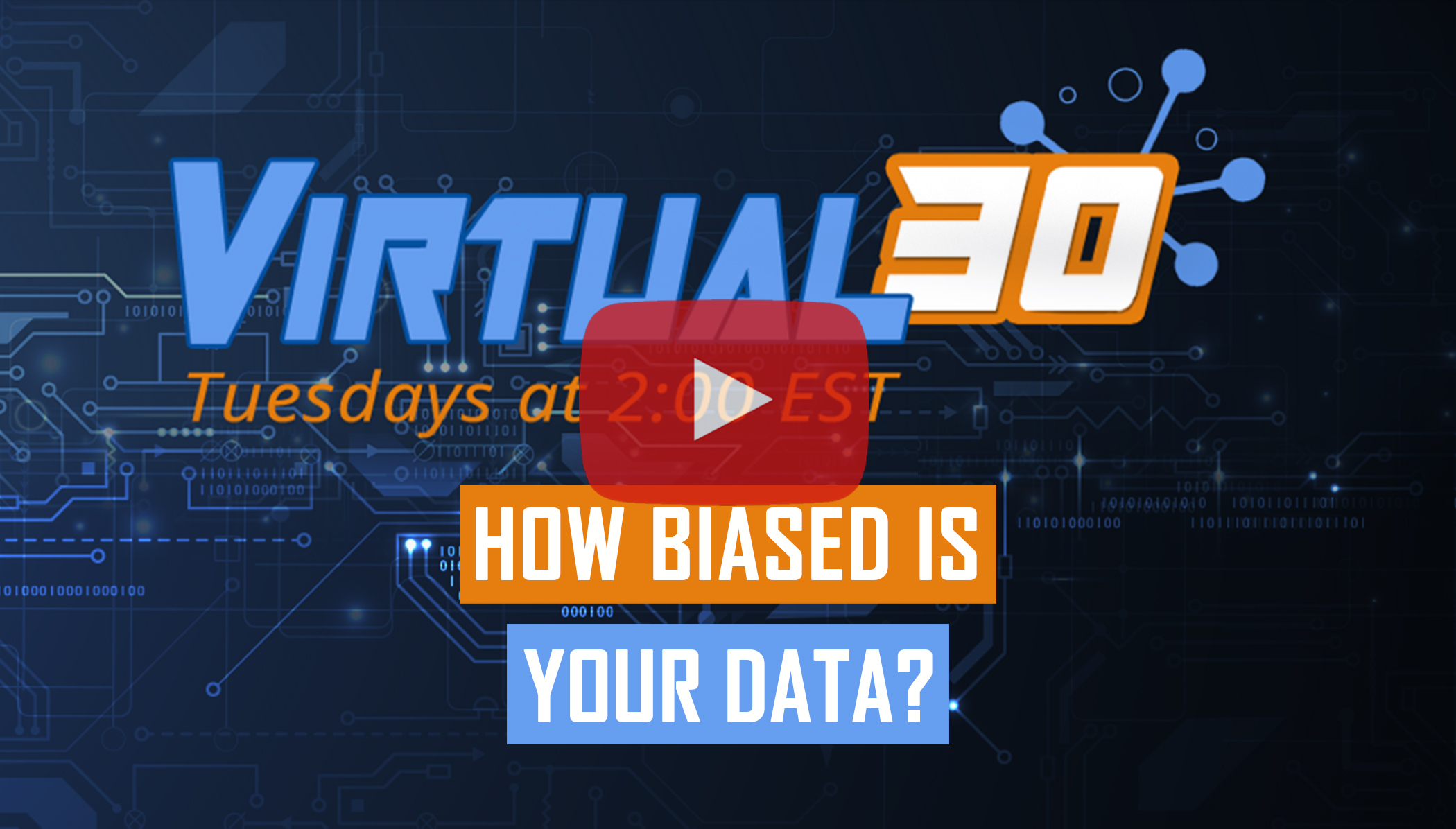 Webinar explaing what Data Bias is and How to Prevent it